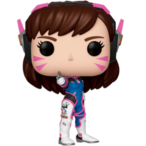 Dva funko pop figur - Overwatch