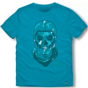 Fortnite skull trooper t-shirt - 10-16år