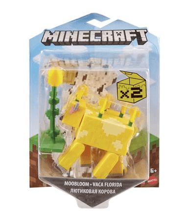 Minecraft moobloom actionfigur - 8cm