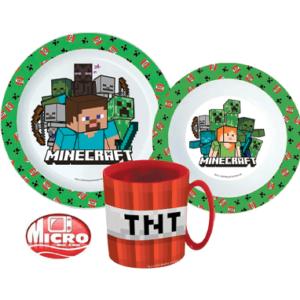 Minecraft spisesæt til børn