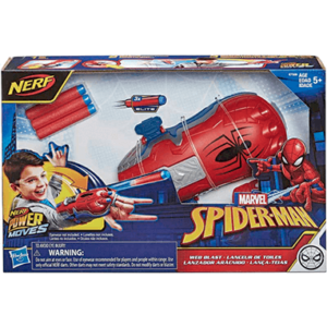 Spiderman Nerf web shooter