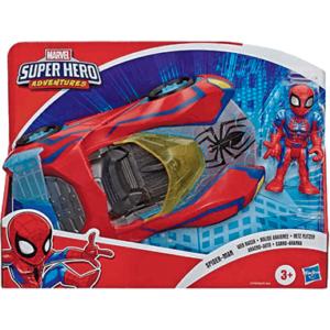 Spiderman bil legetøj - køretøj og figur