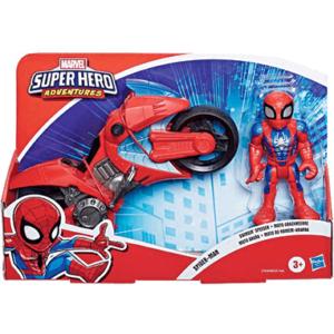 Spiderman motorcykel legetøj