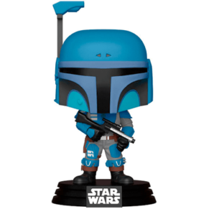 The Mandalorian funko pop figur - Mando - Blå