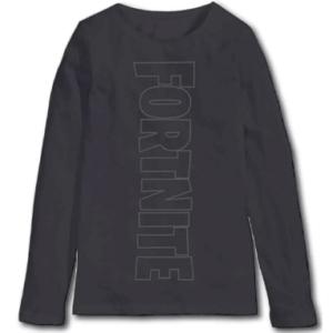 Fortnite langærmet trøje - Mørk (10-16 år)