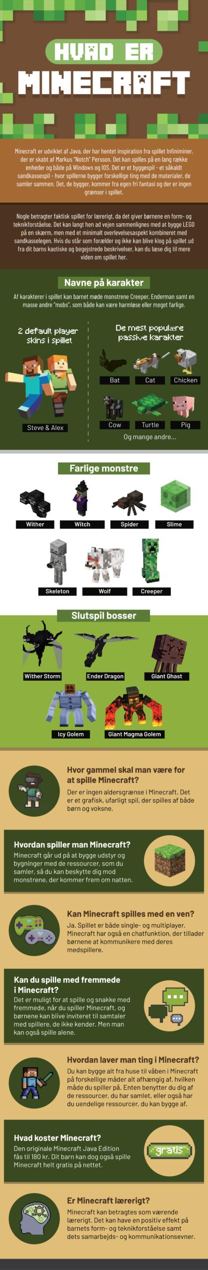 Hvad er Minecraft - Guide til forældre