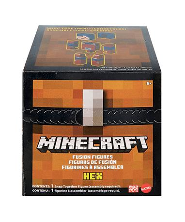 Minecraft Hex fusion figur