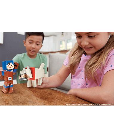 Minecraft Hex og ulv fusion figur med til børn