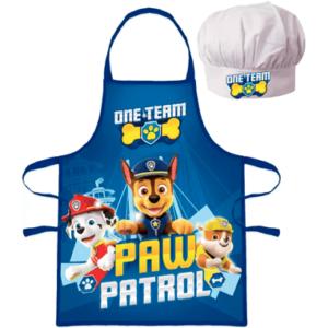 Paw Patrol Forklæde og kokkehue