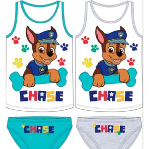 Paw Patrol undertøjssæt - Chase - tanktop og underbukser