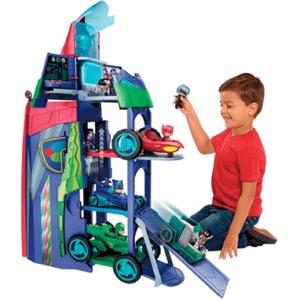 Pyjamasheltene legetøj 2 in 1 mobile hq