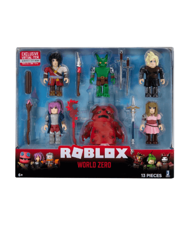 Roblox 6 pakke actionigure