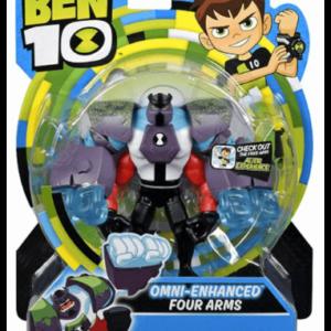 Ben 10 Omnienhanced four arms actionfigur - assorteret