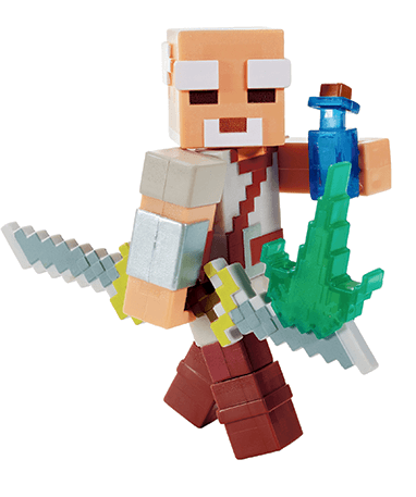 Minecraft Pake actionfigur