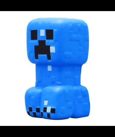Minecraft stressbold - Blå creeper