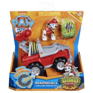 Paw Patrol Dino Deluxe Marshall køretøj og bil