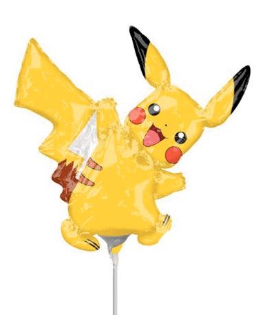 Pikachu ballon - 30cm