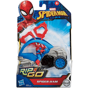 Spiderman rip n go motorcykel - Marvel