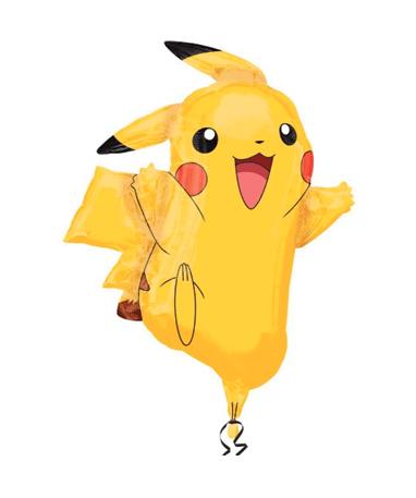 Stor Pikachu ballon 78 cm