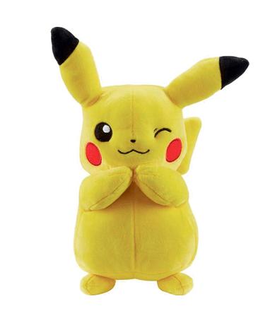 Blinkende pikachu bamse 20cm