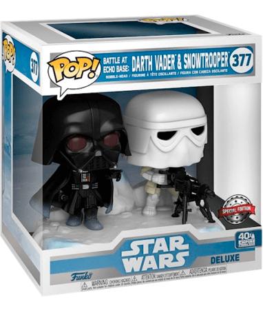 Darth Vader & Storm Trooper funko pop figur - Star Wars