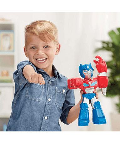 Optimus Prime actionfigur til børn - Mega Mighties - Barn
