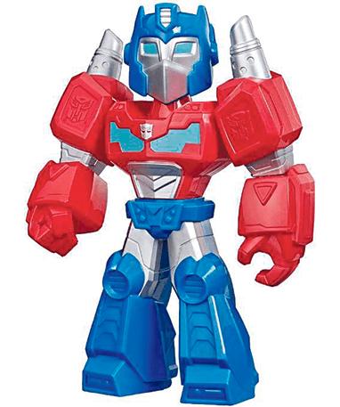 Optimus Prime actionfigur til børn - Mega Mighties - Transformers