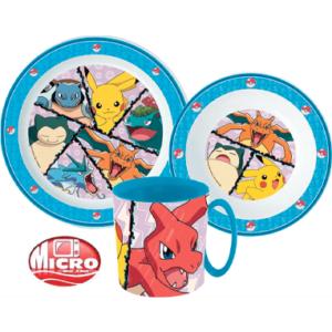 Pokemon Spisesæt til børn - Tallerkner og Krus