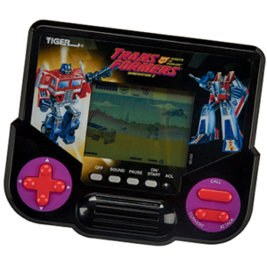 Transformers mini-konsol - Tiger Electronics - Legetøj
