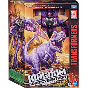 Trex Megatron Transformers action figur - War Of Cybertron