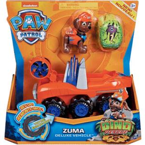Paw Patrol Dino Deluxe Zuma køretøj & Figur