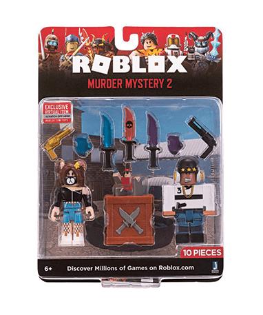 Roblox Game Packs - Assorteret figurer og våben