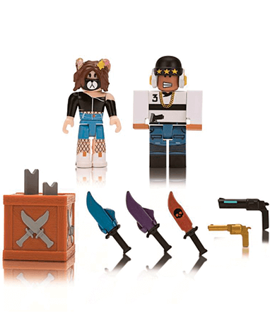 Roblox Game Packs - figurer og våben