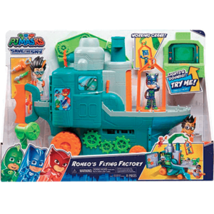 Romeos flyvende fabrik - legetøjssæt