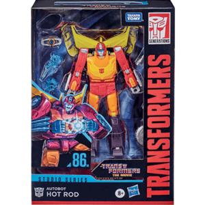 Transformers Voyager figur & Bil - 86 Hot Rod