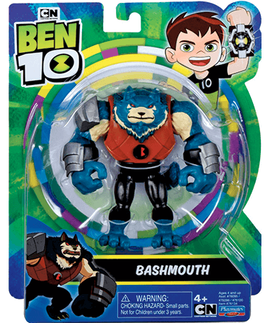 Bashmouth actionfigur - Ben 10