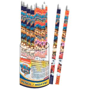 Paw Patrol blyanter med hviskelæder - 2 stk.