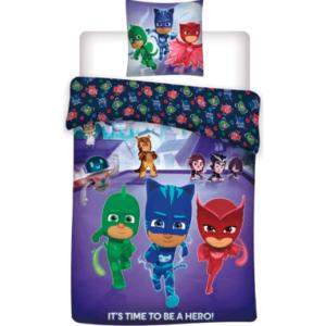 Pyjamasheltene sengetøj til børn - 100x135cm