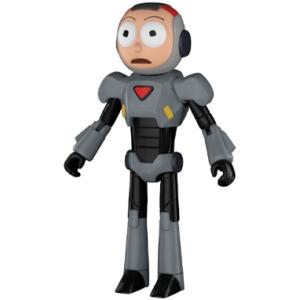 Morty Purge suit action figur - Rick & Morty