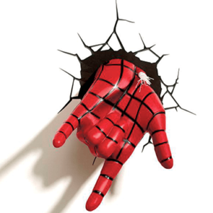 Spiderman 3D hånd lampe