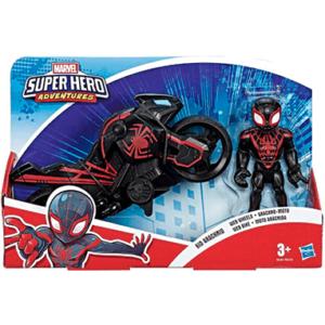 Spiderman Miles Morales motorcykel legetøj