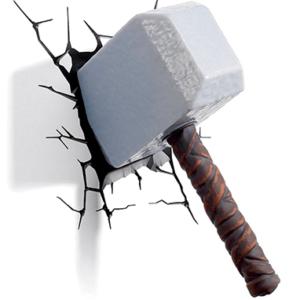 Thors hammer - 3D lampe