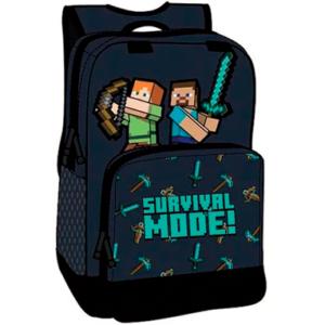 Minecraft Survival mode skoletaske