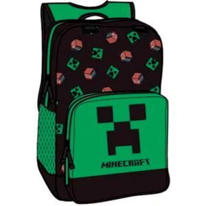 Minecraft creeper & TNT skoletaske 1