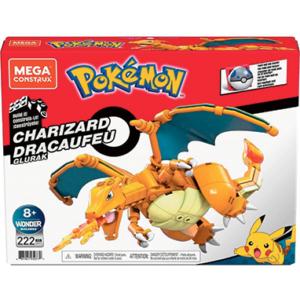 Charizard Mega Construx figur - Pokemon