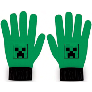 Minecraft grønne handsker