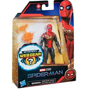 Spiderman 3 rød-guld dragt figur - No way home