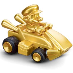Super Mario Kart - Mini Mario guld Fjernstyret Bil