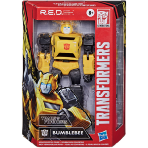 Transformers Red G1 Bumblebee
