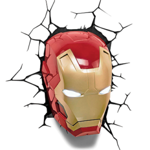 Iron Man Maske Led 3D Lampe